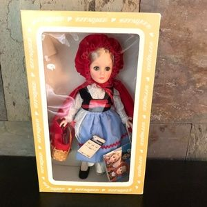 Effanbee Story Book Little Red Riding Hood Doll